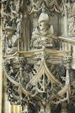 讲坛在维也纳的大教堂里 库存照片
