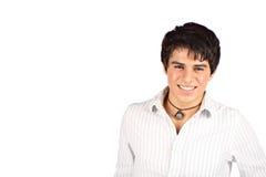讲西班牙语的美国人微笑青少年 免版税库存图片