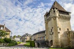 讷韦尔市在法国 免版税图库摄影