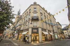 讷韦尔,布戈尼,法国 免版税库存图片