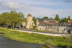 讷韦尔,布戈尼,法国 免版税库存照片