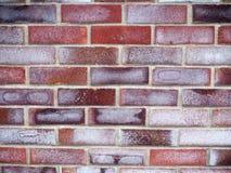许多上色了砖墙纹理和样式 库存照片