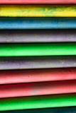 许多上色白垩 免版税库存图片