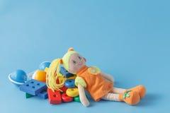 许多个孩子玩具 免版税库存图片