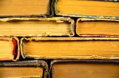 许多书的背景 库存图片