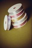 许多五颜六色的丝带 图库摄影