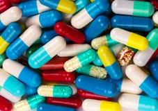 许多五颜六色的医学 库存图片