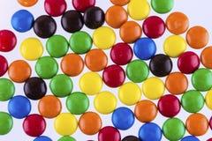 许多五颜六色的糖果 库存图片