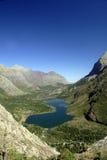 许多冰川的湖国家公园 库存图片