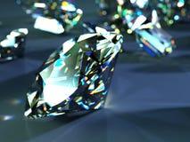 许多分散的宝石 库存例证