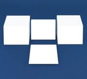 许多卡片 对介绍的模板 免版税图库摄影