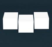许多卡片 对介绍的模板 库存图片