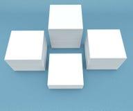 许多卡片 对介绍的模板 免版税库存照片