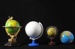 许多地球 免版税库存图片