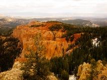 许多布赖斯的峡谷Dementions 库存图片