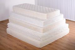 许多床垫 库存照片