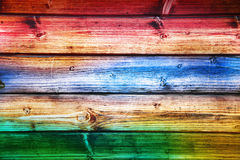 许多应用的彩虹木背景 库存照片
