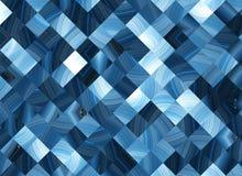 许多抽象方形的映象点背景 库存例证