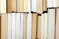 许多旧书 免版税图库摄影