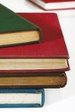 许多旧书 免版税库存照片