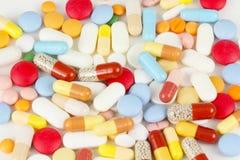 许多服麻醉剂 免版税图库摄影
