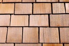 许多木头色的木墙壁  图库摄影