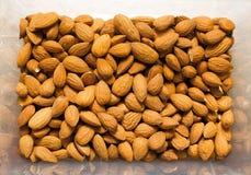 ?? ?? 许多杏仁 坚果是天然产品 r 免版税库存照片
