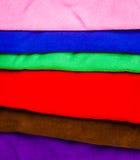 许多毛巾 免版税库存图片