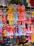 许多玩偶 免版税库存图片