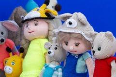 许多玩具连续待售 库存照片