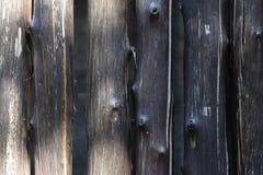 许多用木材建造颜色黑暗 库存图片