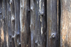 许多用木材建造颜色黑暗 图库摄影