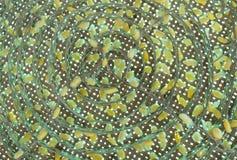 许多的茧丝绸桑蚕蠕虫 库存图片