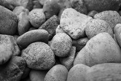 许多石头 库存图片