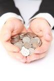 许多硬币 免版税图库摄影