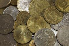 许多硬币 图库摄影