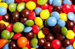 许多糖果 免版税库存照片