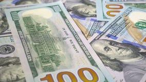 许多美元转动 金钱转动的背景  现金转动的Hape 影视素材