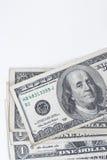 许多美元钞票 免版税库存图片