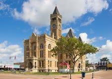 许多美妙的法院大楼之一在得克萨斯 免版税图库摄影