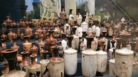 许多花瓶 免版税库存图片