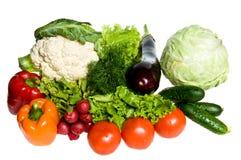 许多蔬菜 免版税库存图片