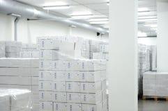 许多配件箱 免版税库存图片