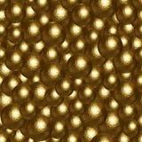 许多金黄球抽象背景  库存照片
