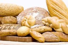 许多面包 库存照片