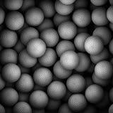 许多高尔夫球 免版税库存图片