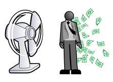 许多货币人员 免版税图库摄影