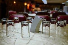 许多玻璃 免版税库存照片