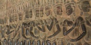 许多Apsaras 库存图片