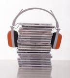 许多cds 免版税库存图片
